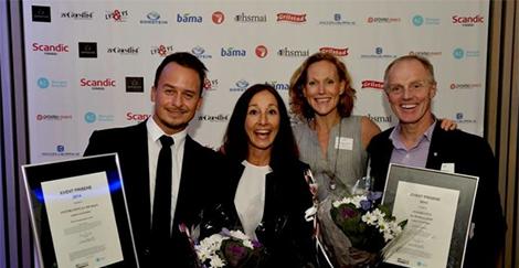 Inspiration kåret til å være ett av Norges beste eventbyråer